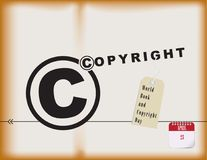 World Book and Copyright Day Royalty Free Stock Images