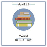 World Book Day, April 23 Royalty Free Stock Photography