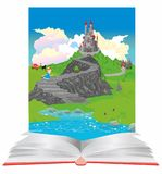 In the world of books and fairy tales Stock Photography