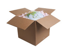 World in a Box Royalty Free Stock Photos