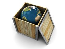 World in the box Stock Images