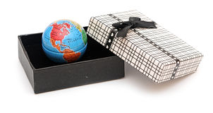 World in the box Stock Image