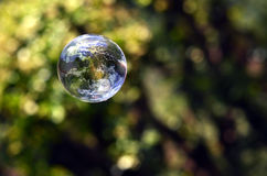World in a bubble Royalty Free Stock Images