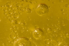 World of bubbles. Air, water and oil mixed for a bubbly effect Stock Image