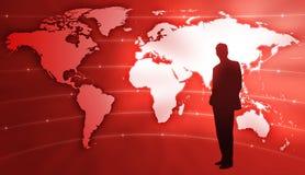 World business royalty free illustration