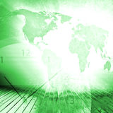 World Business Background Stock Photography