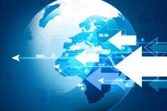 World business background stock illustration