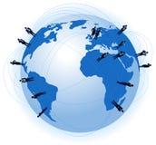 World business communications Stock Image