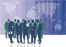 World business people. Vector illustration of World business people and entrepreneurs Stock Photography