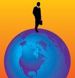 World businessman Stock Image