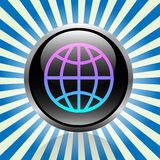 World button Royalty Free Stock Images