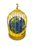 World in in cage Stock Photos