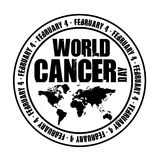 World cancer day Royalty Free Stock Photos