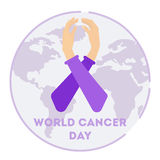 World cancer day. Stock Photography