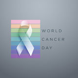 World Cancer Day vector illustration