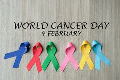 World cancer day royalty free stock photo