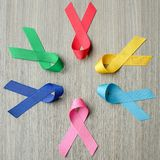 World cancer day stock images