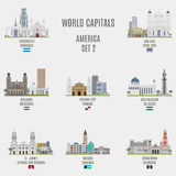 World capitals Royalty Free Stock Photo
