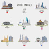 World capitals Stock Photos