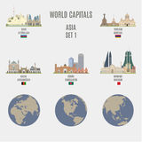 World capitals Royalty Free Stock Image