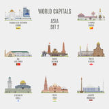 World capitals Royalty Free Stock Images