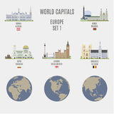 World capitals Stock Images