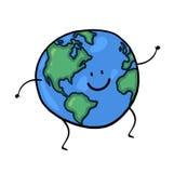 World cartoon Royalty Free Stock Images