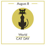 World Cat Day, August 8 Stock Photos