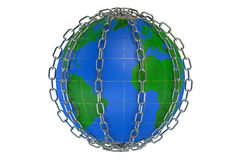World in chains Royalty Free Stock Photo
