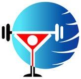 World champion. Isolated illustrated logo design Royalty Free Stock Image