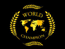 World Champion 4 Royalty Free Stock Photography
