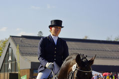 World Champion Anabel Balkenhol, Horse Show Royalty Free Stock Photos