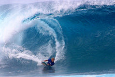 World Champion Bodyboarder, Jeff Hubbard royalty free stock images