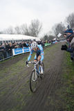 World champion Niels Albert. Belgian cyclocross rider Niels Albert in the world championship in Koksijde 29-1-12. He won Stock Photography