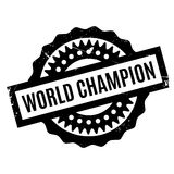 World Champion rubber stamp Royalty Free Stock Image