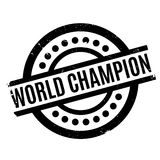 World Champion rubber stamp Royalty Free Stock Photos