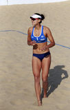 World champion xue chen,chinese beach vollyball player Royalty Free Stock Image