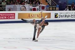 World championship on figure skating 2011 Stock Photography
