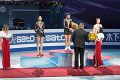 World championship on figure skating 2011 Stock Photos