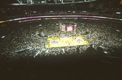 World Championship Los Angeles Lakers, NBA Basketball Game, Staples Center, Los Angeles, CA Stock Photo