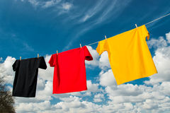 World Championship. Shirts in the colours of Germany stock photo
