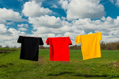 World Championship. Shirts in the colours of Germany Stock Images