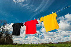 World Championship. Shirts in the colours of Germany royalty free stock photos