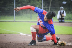 World Championship Softball 2014 Stock Images