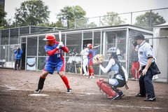 World Championship Softball 2014 Stock Photo