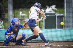 World Championship Softball 2014 Royalty Free Stock Images