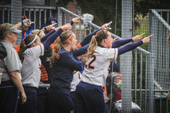 World Championship Softball 2014 Royalty Free Stock Photo