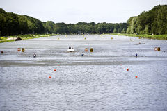 World championships Rowing under 23 Royalty Free Stock Photography