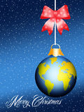World Christmas ball Stock Photos