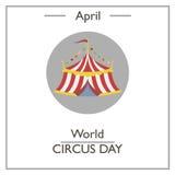 World circus day. April Stock Image